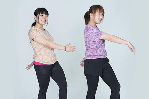 画像:フィットネス体操