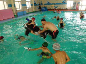 画像:夏休みイベントその③ プール遊び